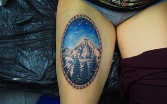 Originální tetování ve stylu rastr art s možností vypracování individuálního návrhu v Praze
