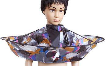 Kadeřnický plášť se zachytáváním vlasů - pro děti - dodání do 2 dnů