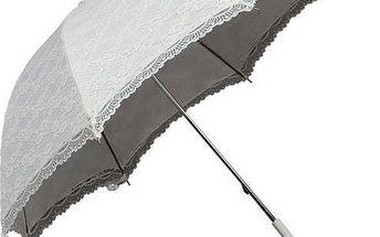 Deštník Ambiance Falcone Elegance White