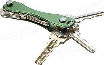 Praktická klíčenka ideální pro objemné sady klíčů - různé barvy