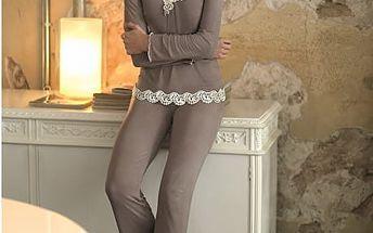 SELMARK Dámské pyžamo s krajkou P00730-P05 M