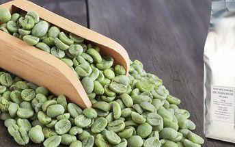 450 g jemně mleté zelené kávy na podporu hubnutí a zdraví