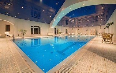 3–5denní wellness pobyt s polopenzí pro 2 v hotelu SEN**** v Senohrabech