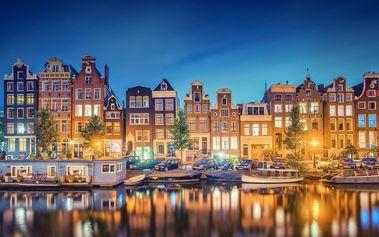 Amsterdam, 4denní zájezd pro 1 os. s 1 nocí, snídaní a dopravou z Prahy - Volendam a další