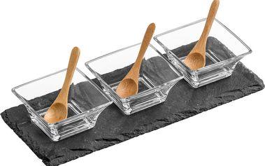 Břidlicový servírovací set Premier Housewares Flute