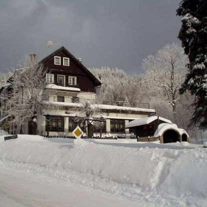 Zimní pobyt pro dva s polopenzí v Hotelu Orlice na 3, 4 nebo 6 dní, sjezdovky, běžkařské tratě.