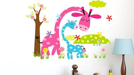 Nalepte.cz Žirafky pro děti 45 x 30 cm