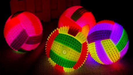 Svítící míček se zvuky