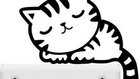 Kočka na vypínač 10 x 10 cm