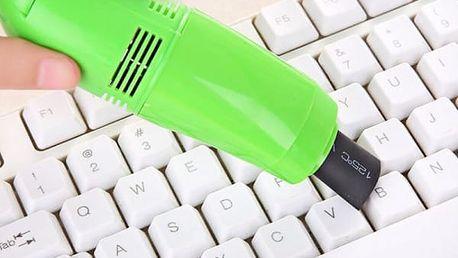 USB vysavač na klávesnici - 4 barvy
