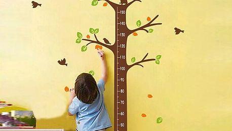 Nalepte.cz Strom s metrem 70 x 175 cm