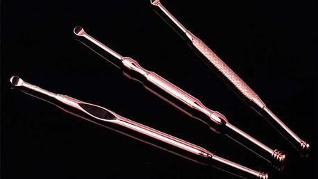 Nástroje na čištění uší - 3 tyčinky