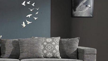 Zrcadloví ptáci 13,5 x 13 cm