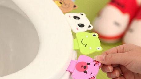 Veselý úchyt na záchodové prkénko