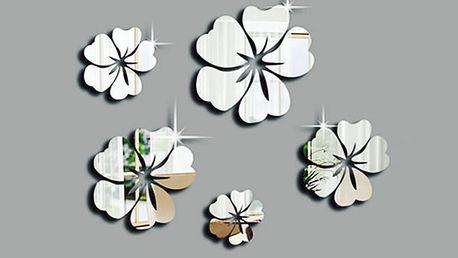 Nalepte.cz Zrcadlové květiny 13 x 13 cm