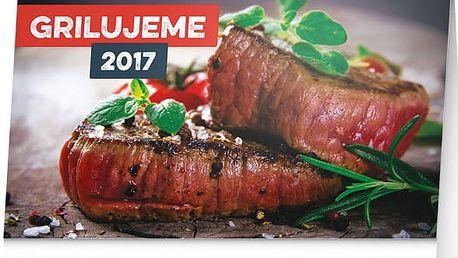Stolní kalendář 2017 - Grilujeme - dodání do 2 dnů