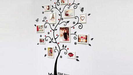 Strom a srdíčka 100 x 120 cm