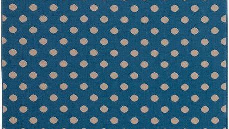 Koberec Fringe - modrý, 140x200 cm - doprava zdarma!