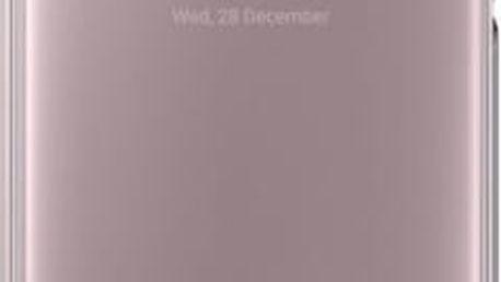 Pouzdro na mobil flipové Samsung pro Galaxy A5 2017 (EF-ZA520C) (EF-ZA520CPEGWW) růžové