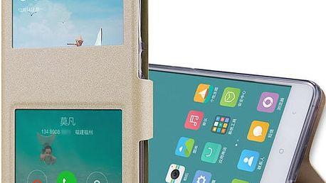 Magnetické flipové pouzdro pro Xiaomi Redmi Note 3 a Note 3 Pro