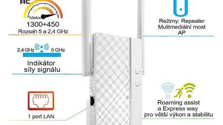 ASUS RP-AC66 - 90IG0250-BO3R00 + Asus Cerberus v hodnetě 799,- k routeru Asus zdarma