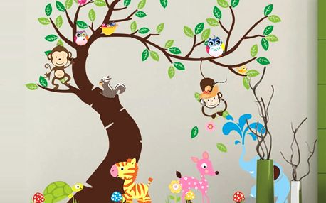 Strom jako z pohádky 189 x 143 cm