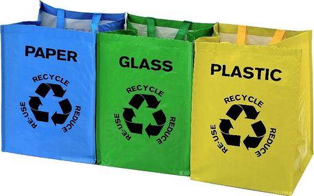 Sada 3 tašek na odpad Premier Housewares Recycle