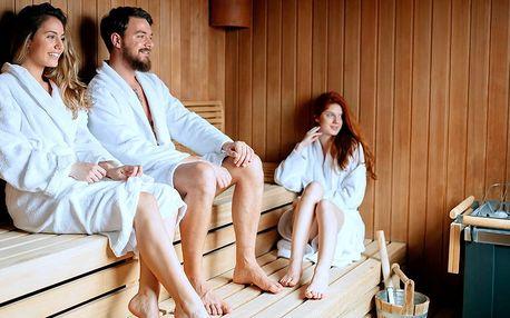 90 minut privátní finské sauny až pro 4 osoby