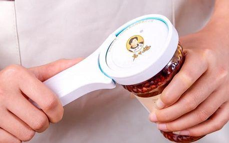 Pomůcka na otvírání sklenic, lahví a plechovek - dodání do 2 dnů