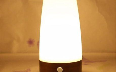 Bezdrátová lampa s pohybovým senzorem – více variant