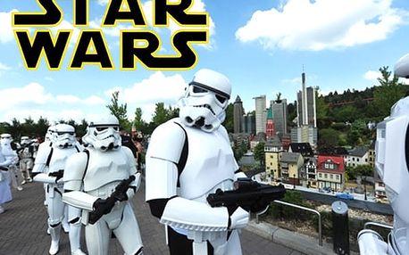 Jednodenní zájezd do německého Legolandu za Star Wars pro 1 osobu - pro milovníky Star Wars.