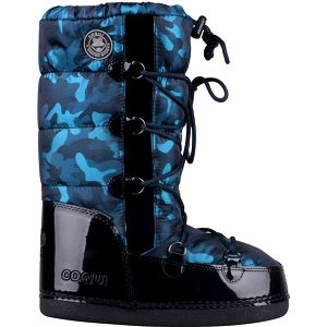 Coqui Dámské sněhule Snowboot Taina 56207 Dark Blue 101133 39-40