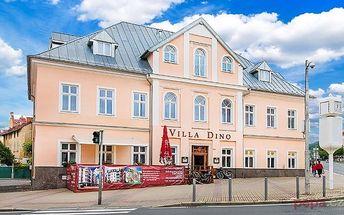 3–6denní wellness pobyt pro 2 osoby v hotelu Villa Dino v Mariánkách s polopenzí