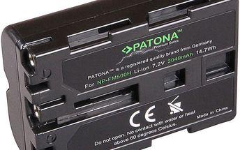 Patona baterie pro Sony NP-FM500H 1600mAh Li-Ion Premium - PT1167