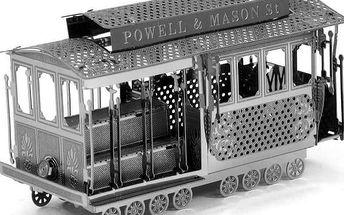 3D puzzle - Retro tramvaj