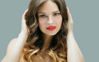 Ombré barvení vlasů vč. střihu pro všechny délky
