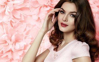 Kosmetické 60minutové hýčkání včetně masáží
