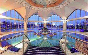 Maďarsko, Sárvár**** na 3 nebo 4 dny pro 2 osoby s polopenzí, wellness a bazénem, platí rok