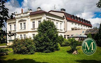Nový Bor: luxusní wellness v hotelu Morris
