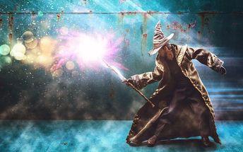 Dětská úniková hra Čaroděj plná hádanek a tajů