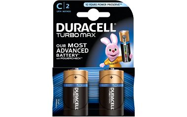 Duracell Turbo Max C, 1ks Duralock - 10PP100031