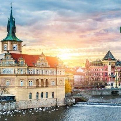 Praha levně pro dva s masáží a snídaní