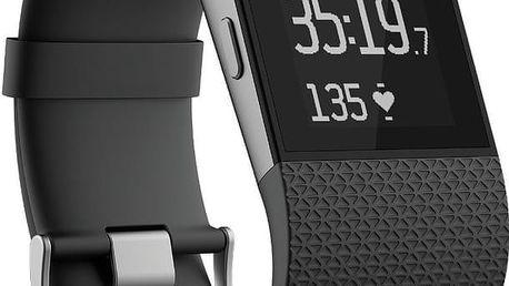 Fitbit Surge, L, černá - FB501BKL-EU