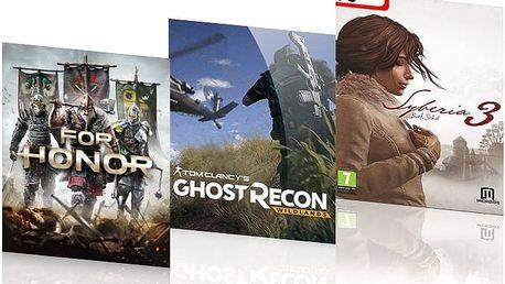 Nově vydané dobrodružné počítačové hry ve více variantách