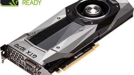 GIGABYTE GeForce GTX 1070 Founders Edition, 8GB GDDR5 - GV-N1070D5-8GD + Kupon hra dle vlastního výběru: For Honor, Tom Clancy´s Ghost Recon v ceně 1499,- Kč
