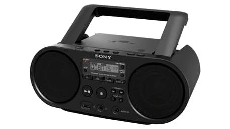 Sony ZS-PS50B, černá