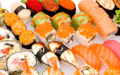 30% sleva na veškeré sushi v restauraci Sushishikigami