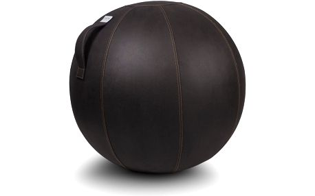 Tmavě hnědý sedací míč VLUV, 65 cm - doprava zdarma!