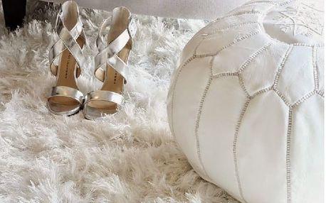 Vlněný koberec Royal Dream Pure, 50x80 cm