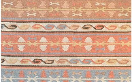 Ručně tkaný koberec Kilim Anahi, 120x180cm - doprava zdarma!